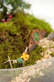 Diy Garden Crafts - make your own hobbiton miniature garden