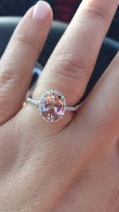 pink morganite opinion on morganite engagement ring show me your engagement rings