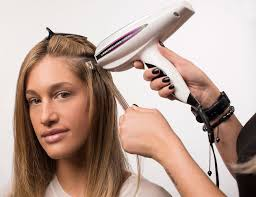 laser hair extensions hair extension application process using hairdreams hair extensions