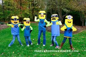 minion costumes easy no sew diy minion costumes harvard homemaker