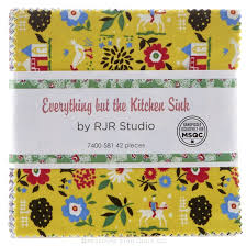 Kitchen Sink Pack Everything But The Kitchen Sink 2016 Charm Pack Rjr Fabrics