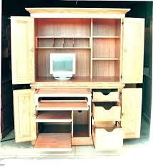 Computer Corner Armoire Corner Armoire Desk Corner Desk Extraordinary Office