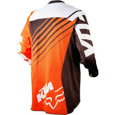 ktm motocross gear all new fox racing 2015 360 ktm jersey orange wide selection of