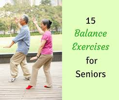 15 balance exercises for seniors workouts exercises
