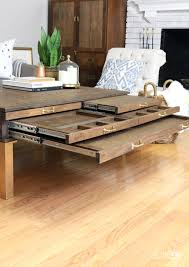 Diy Coffee Tables by Diy Coffee Table With Pullouts Home Made By Carmona