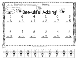 addition subtraction practice pages with cut apart counters mixed