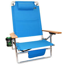 Beach Lounge Chair Png Titan Lay Flat Aluminum Folding Beach Chair Light Blue Layflat