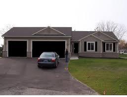 black shutters and garage door houses with black garage doors