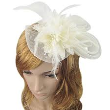 small fascinators for hair women s fascinators small hairpin feather hat one size