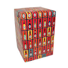 pop tabasco bottle wrapping paper tabasco country store