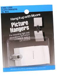 moore nail less cloth picture hangers misterart com