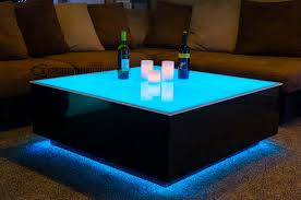 Coffee Tables With Led Lights Coffee Table Led Coffee Table Imposing Photos Ideas Bluetooth