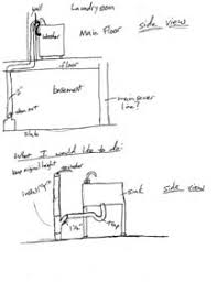 laundry sink plumbing diagram utility sink drain install i ve searched plumbing diy home