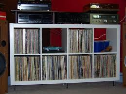 Lp Record Cabinet Furniture Ikea Hack For A Small Stereo Cabinet For All My Records And