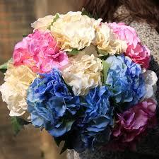 Wedding Bouquets Cheap Aliexpress Com Buy Uland Artificial Plastic Wedding Flowers