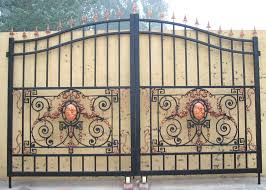 best wrought iron gates with access control and automatic gates