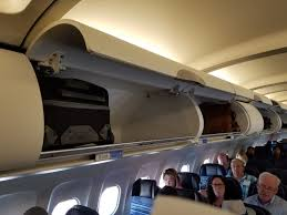 united airline carry on forced to check carry on baggage when plenty of space on board