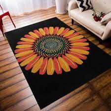 chambre kid 2017 vente délicat grand acrylique floral doux tapis pour