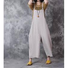 white jumpsuits for plus size 2017 fashion plus size linen overalls wide leg