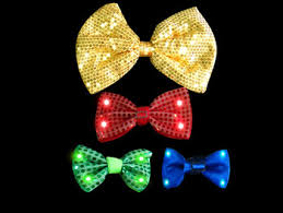 light up bow tie clown party led light up bow ties buy plastic bow tie bow tie