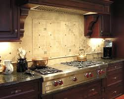 stove backsplash metal plain matte white kitchen cabinet caramel