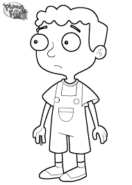 phineas and ferb coloring pages coloringsuite com
