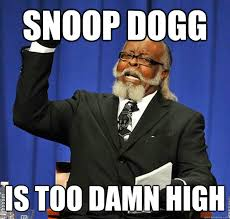 Slow Internet Meme - snoop dogg is too damn high know your meme