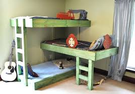 Three Person Bunk Bed 3 Level Bunk Bed Amazing 3 Tier Bunk Bed Bunk Bed The Owner