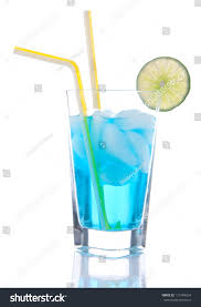 vodka tonic cranberry popular blue hawaiian cocktail alcohol vodka stock photo 115194634