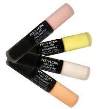 revlon nail art chalkboard matte nail enamel polish color set 4
