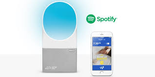 alarm clock that wakes you up in light sleep withings alarm clock helps you wake with the help of spotify