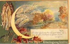 vintage thanksgiving postcard bulldoggrrl flickr