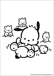 fun kids coloring pages pochacco coloring pages educational fun kids coloring pages and