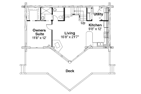 Log Cabin Floor Plans With Loft by A Frame House Plans Chinook 30 011 Associated Designs