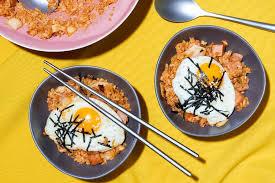 kimchi fried rice korean comfort food the new york times