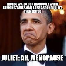 Nurse Meme Generator - meme creator nurse wails continuously while running two small