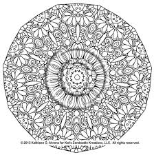 coloring pages plicated coloring pages printable mandala