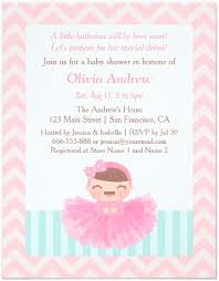 ballerina baby shower invitations ballerina baby shower invitation we like design