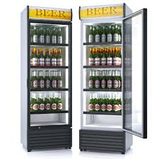 commercial beer fridge gl front refrigerator gl door merchandisers