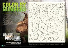 walking with dinosaurs free activity sheets u0026 blu ray giveaway