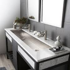bathroom setting ideas trough bathroom sink best home furniture ideas