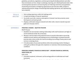 Private Banker Resume Example Outstanding Banker Resume 2 Personal Banker Resume Samples