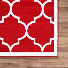 Large Modern Rug Large Modern Geometric Trellis Thin Carpet Contemporary Soft Area