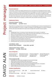 Assistant Project Manager Resume Sample by Best Project Manager Resume Nfgaccountability Com