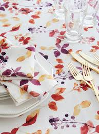 nappe cuisine plastique magasinez des nappes et du linge de table en ligne simons