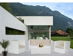amazing white wicker outdoor furniture with white selina seater
