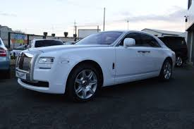 roll royce ghost white used rolls royce ghost 6 6 4dr auto sold for sale in wednesbury