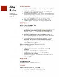 Resume Sample Underwriter commercial loan underwriter resume