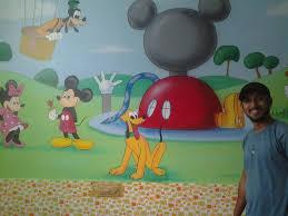 play wall painting mumbai pre classroom cartoon full kids