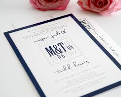Wedding Invitations Cards Uk Amazing Navy Wedding Invitations Theruntime Com